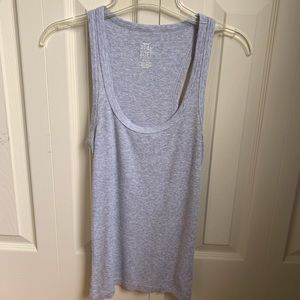 Aerie Scoop Neck Gray Tank